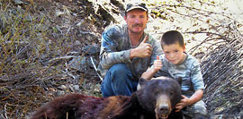 middlefork lodge outfitters bear hunt left